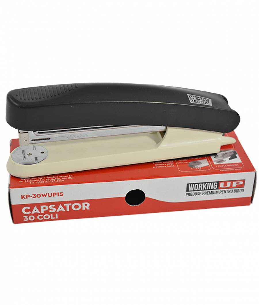 Capsator plastic 30 file (105mm) W-UP NEGRU