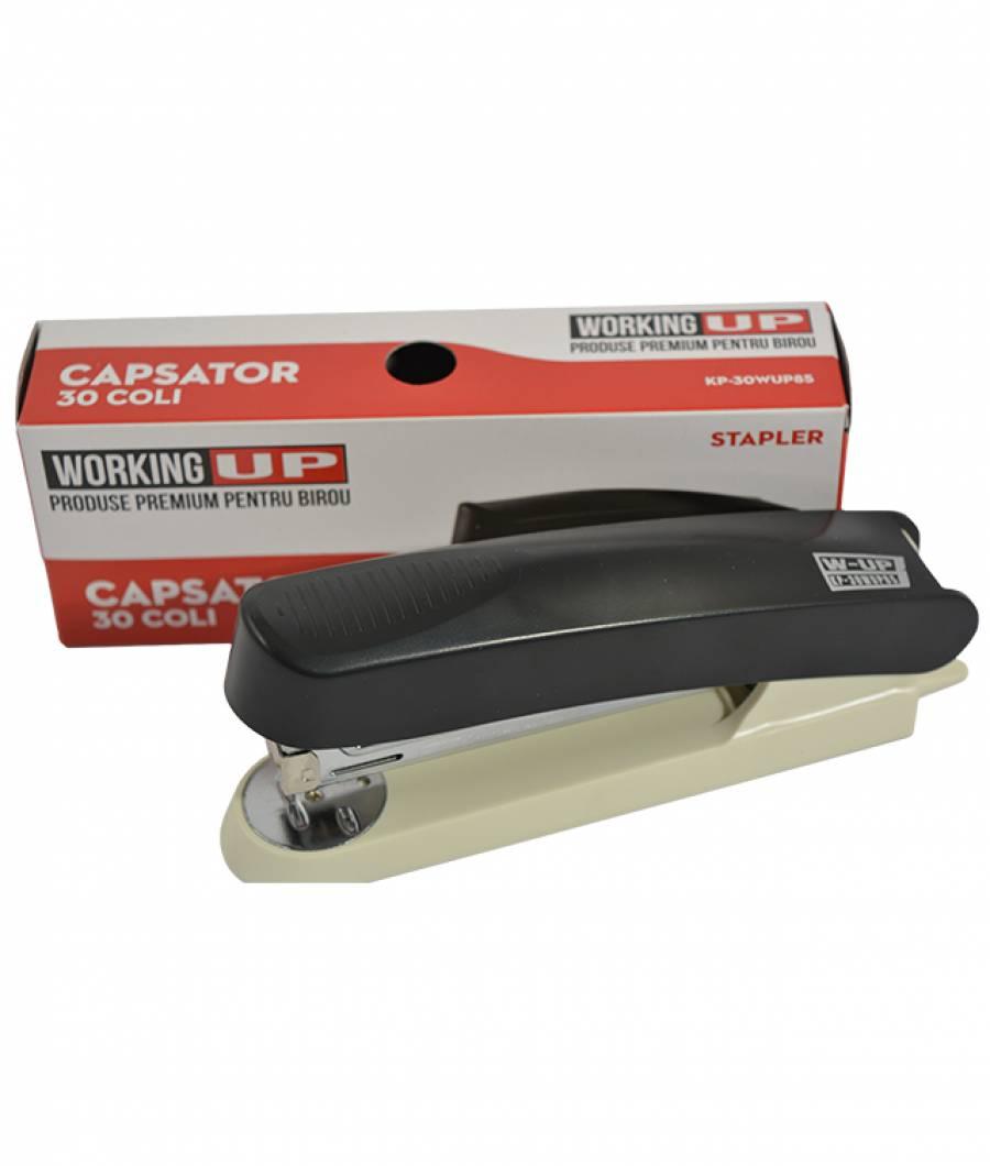 Capsator plastic 30 file (60mm) W-UP NEGRU