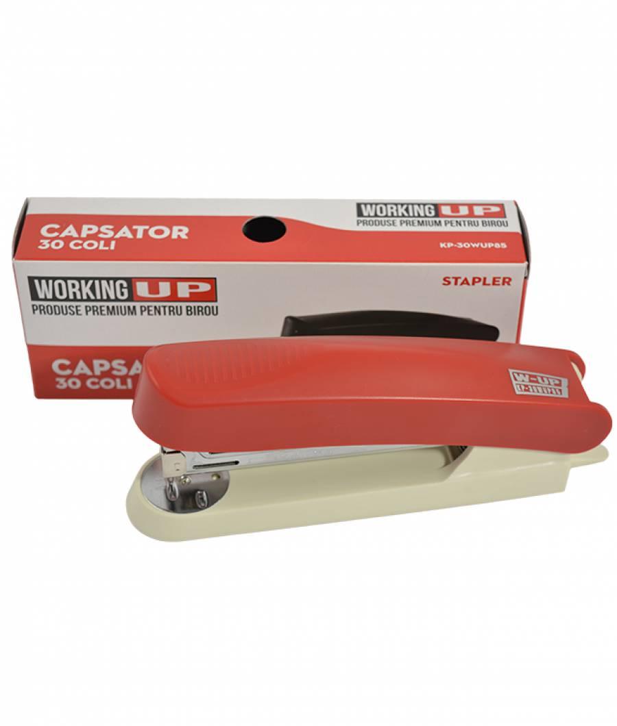 Capsator plastic 30 file (85mm) W-UP ROSU