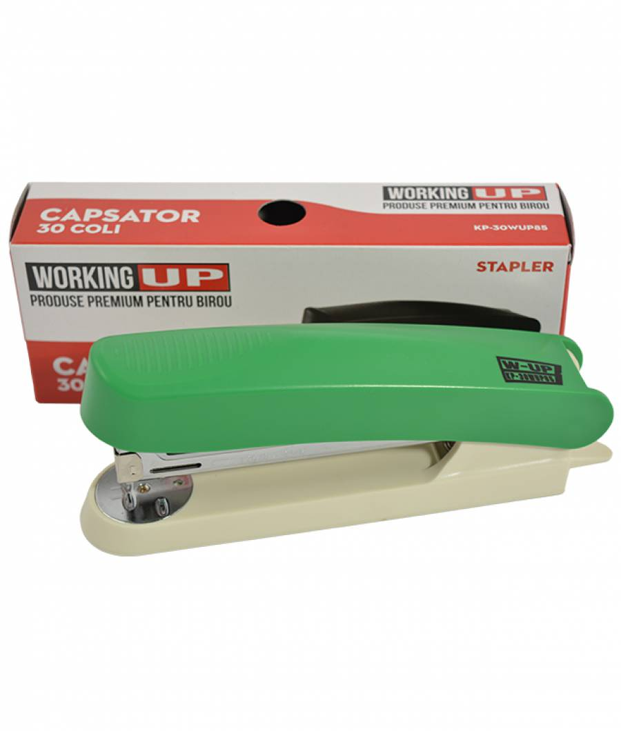 Capsator plastic 30 file (85mm) W-UP VERDE