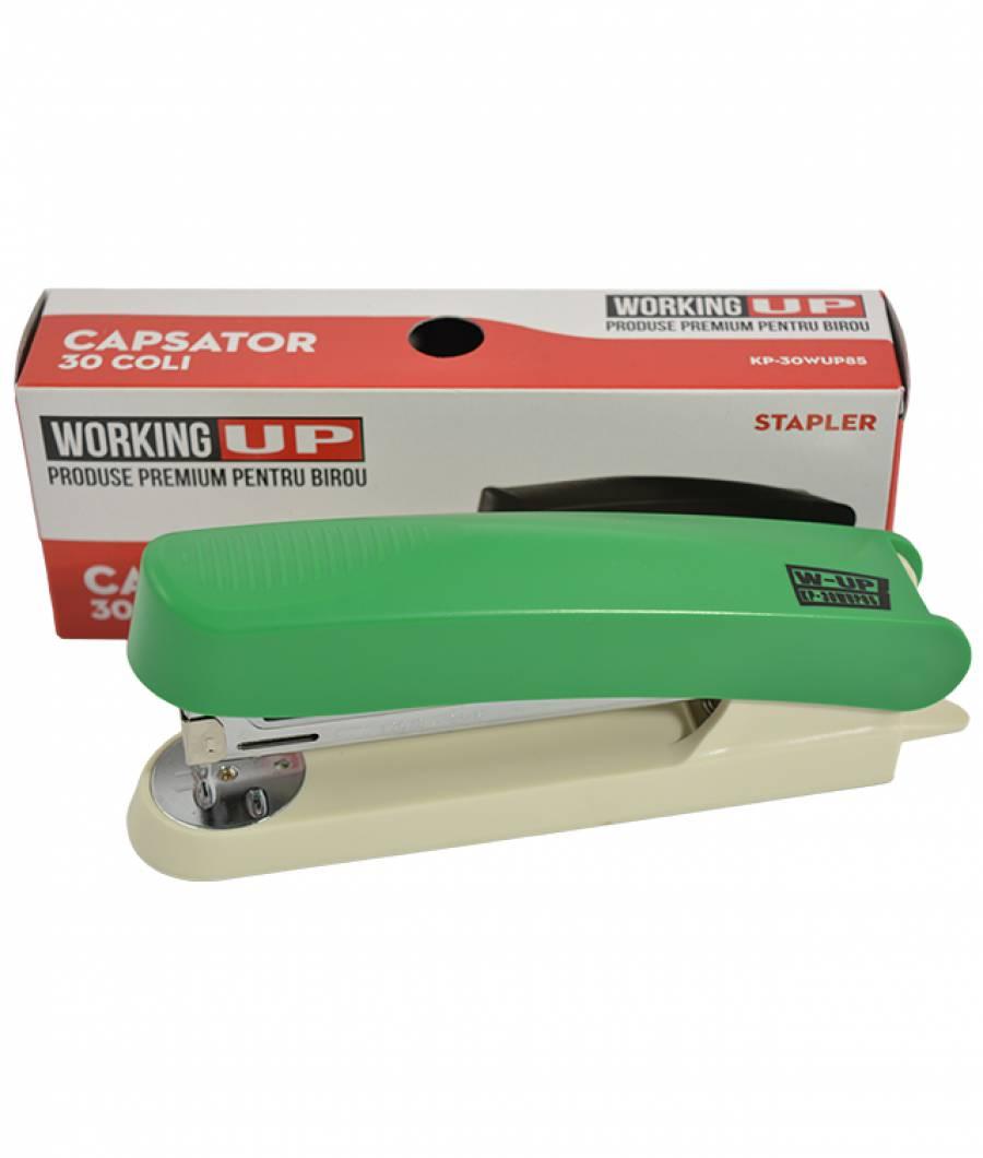 Capsator plastic 30 file (85mm) W-UP VERDE