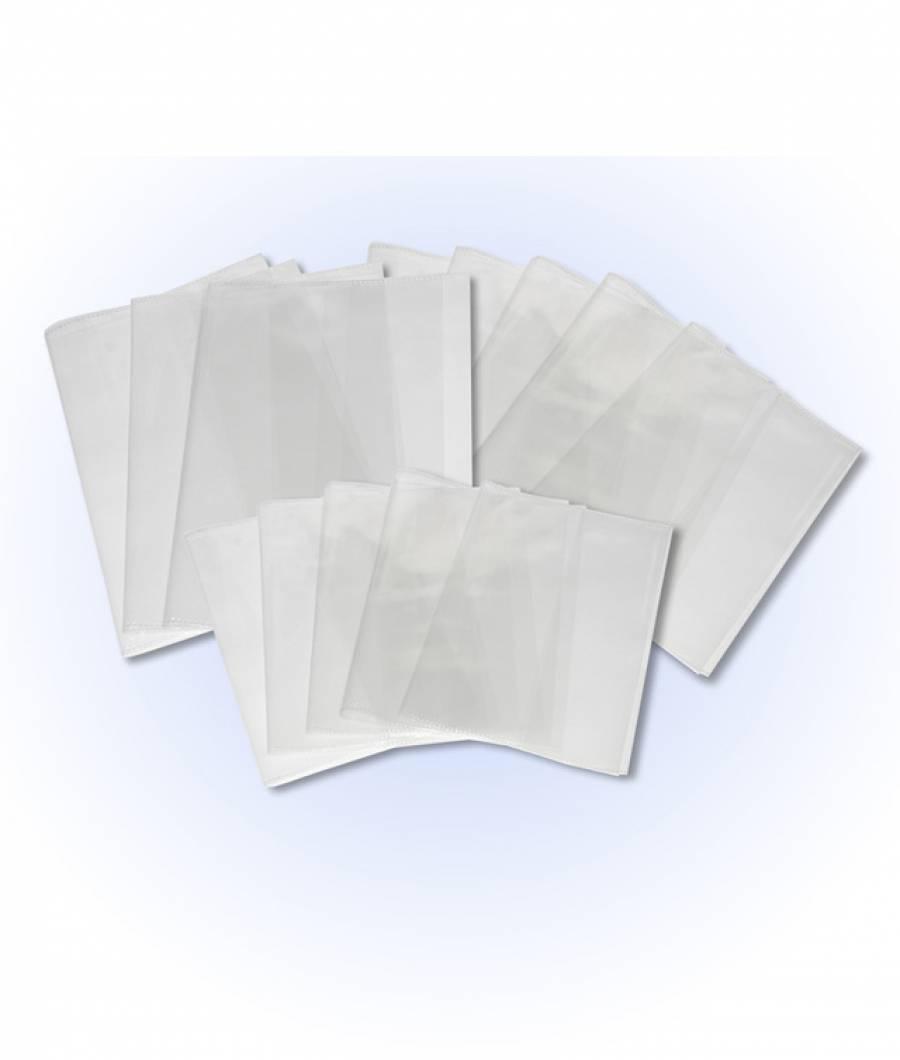 Coperti 244x355 mm transparente - carte normala - PVC