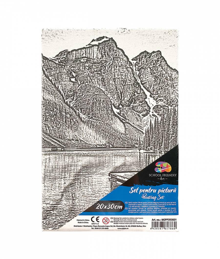 Panza SF ART pre printata  sasiu lemn 1.6x2.5cm 20x30cm Peisaj 5