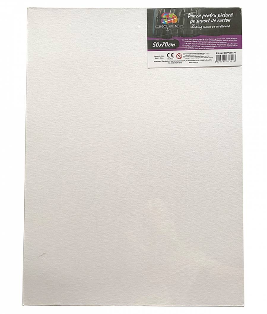 Panza pictura SF ART carton 3 mm grosime, 50x70cm