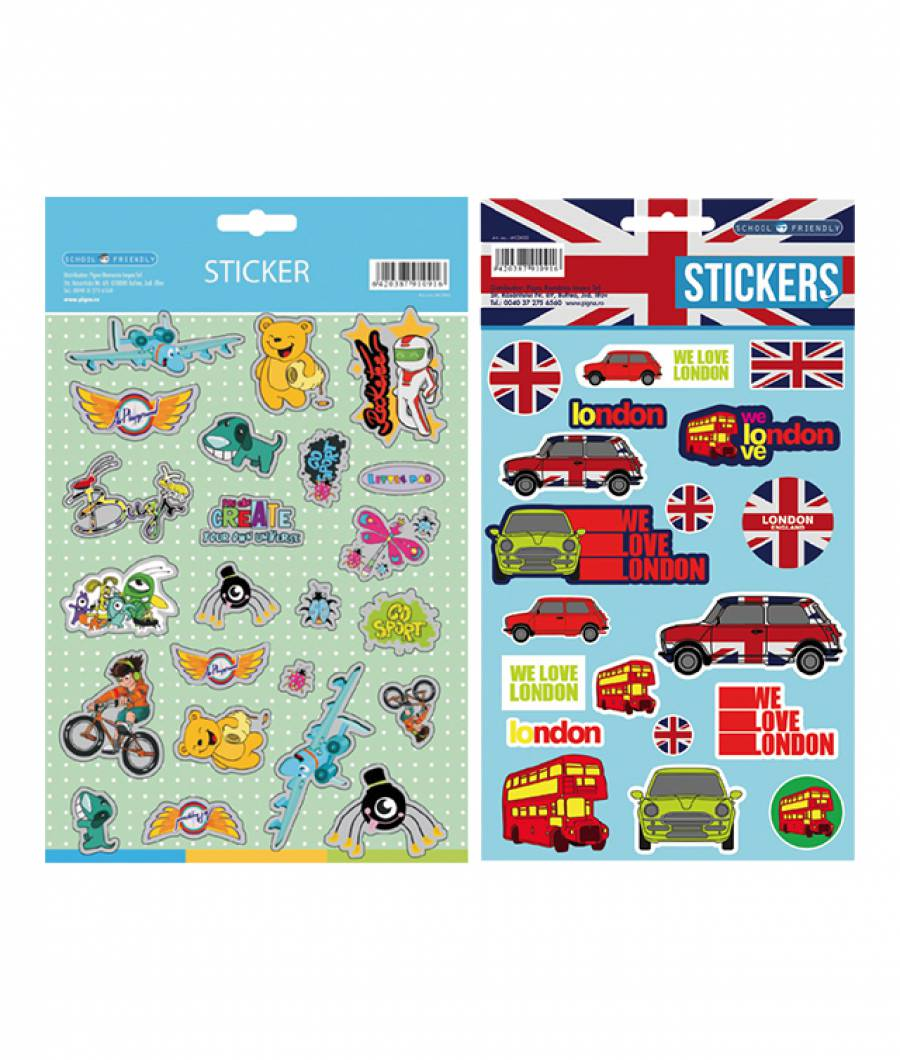 Sticker XOXO baieti London
