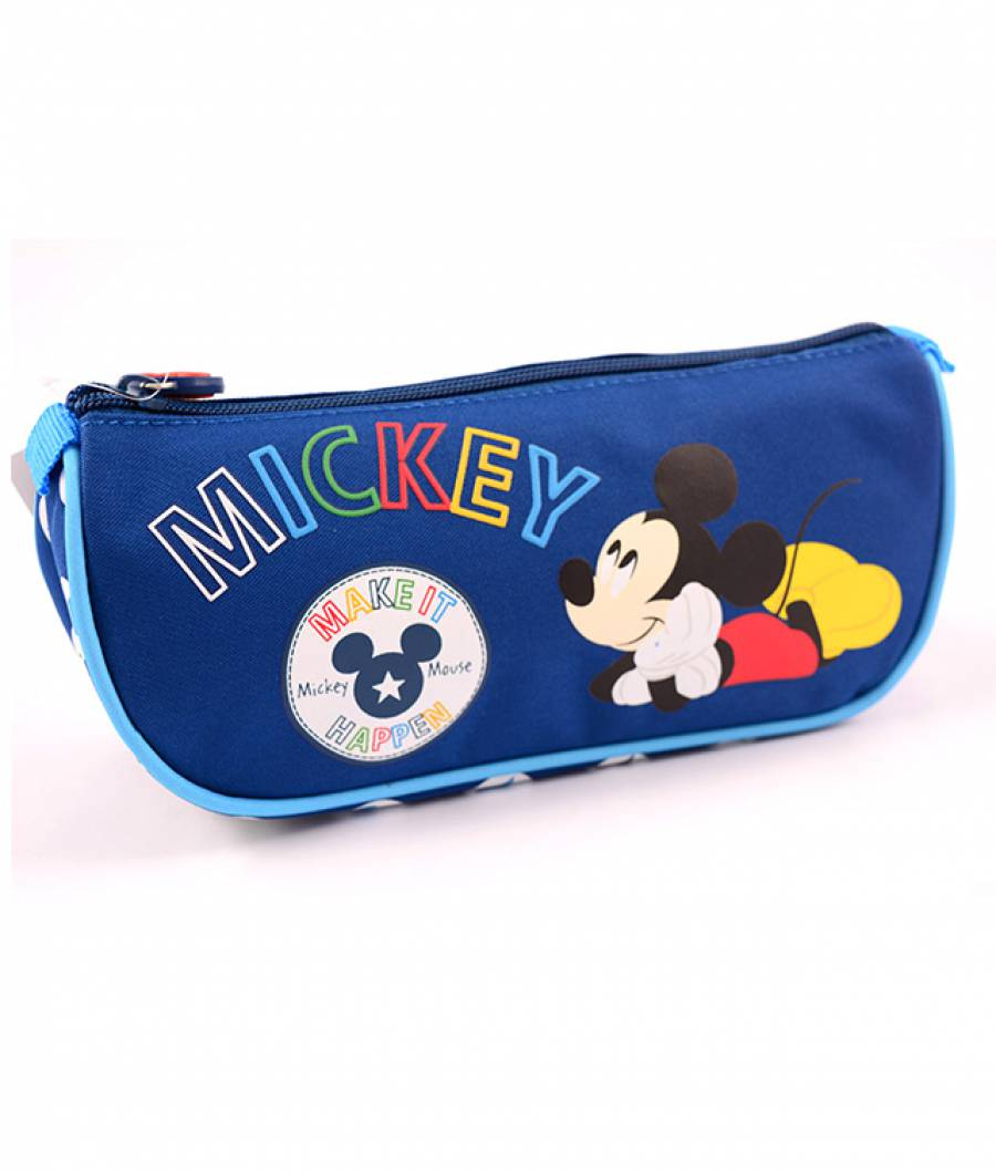 Penar Etui Triunghiular albastru inchis Mickey