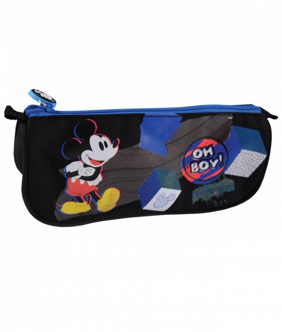 Penar Etui Triunghiular albastru-negru Mickey