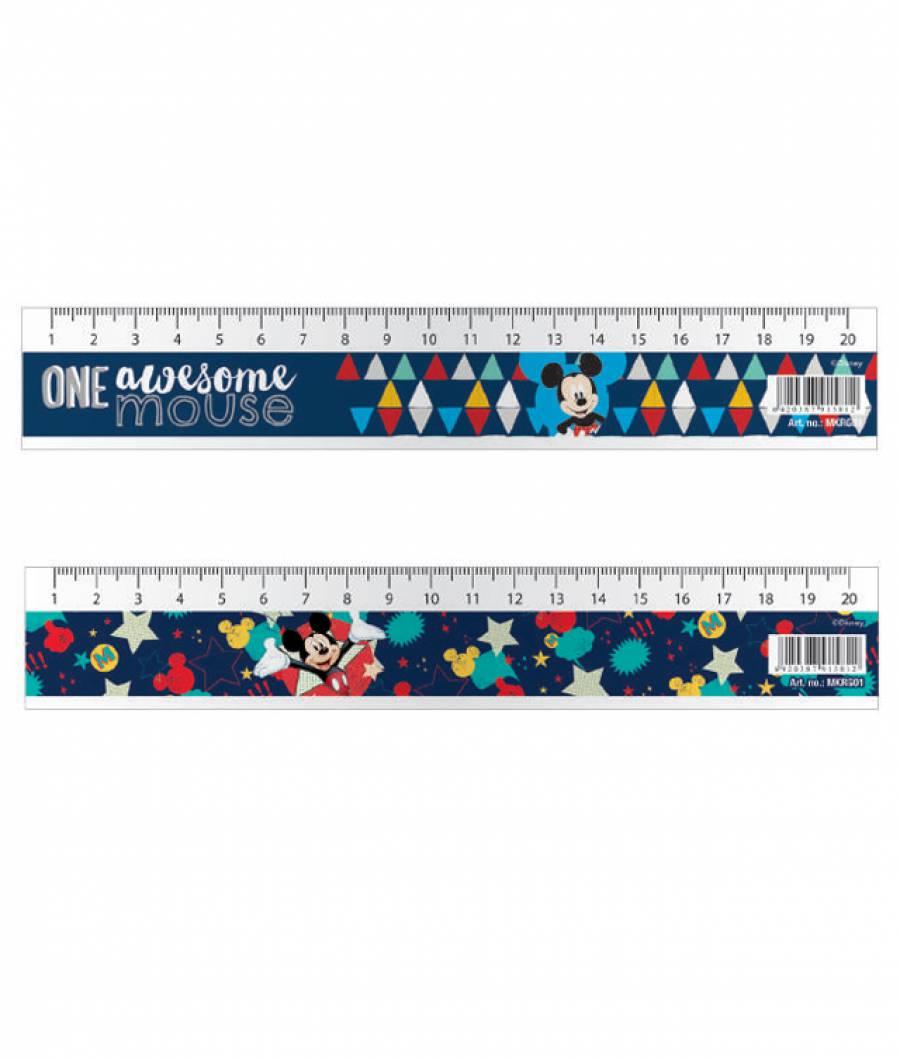 Rigla 20cm Mickey