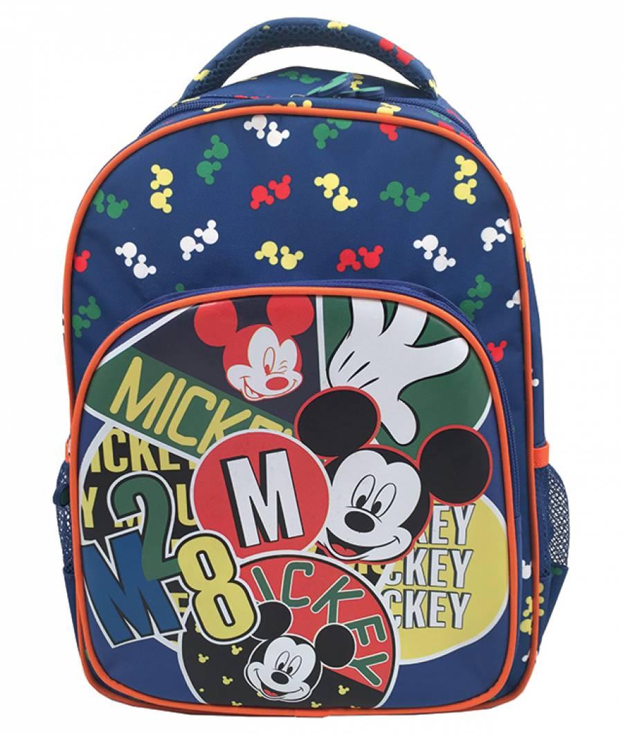 Ghiozdan CL 0 Mickey Mouse Negru cu Galben