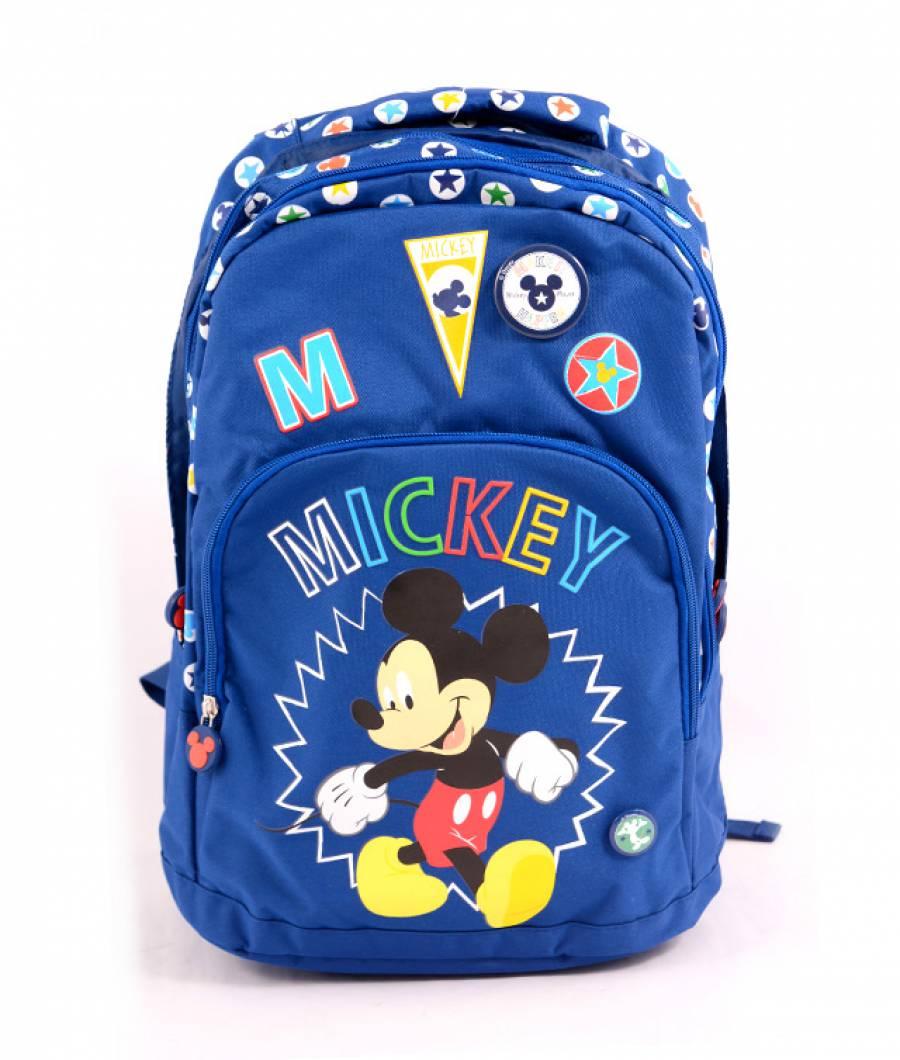 Ghiozdan clasa 1/4, albastru inchis Mickey
