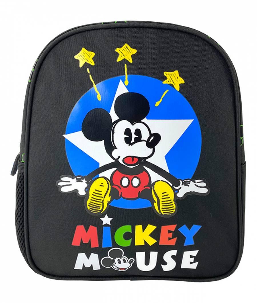 Ghiozdan MICKEY MOUSE PRESCOLARI  negru