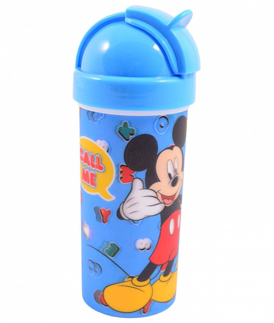 Sticla Lichide 380ml Mickey din material plastic certifcat
