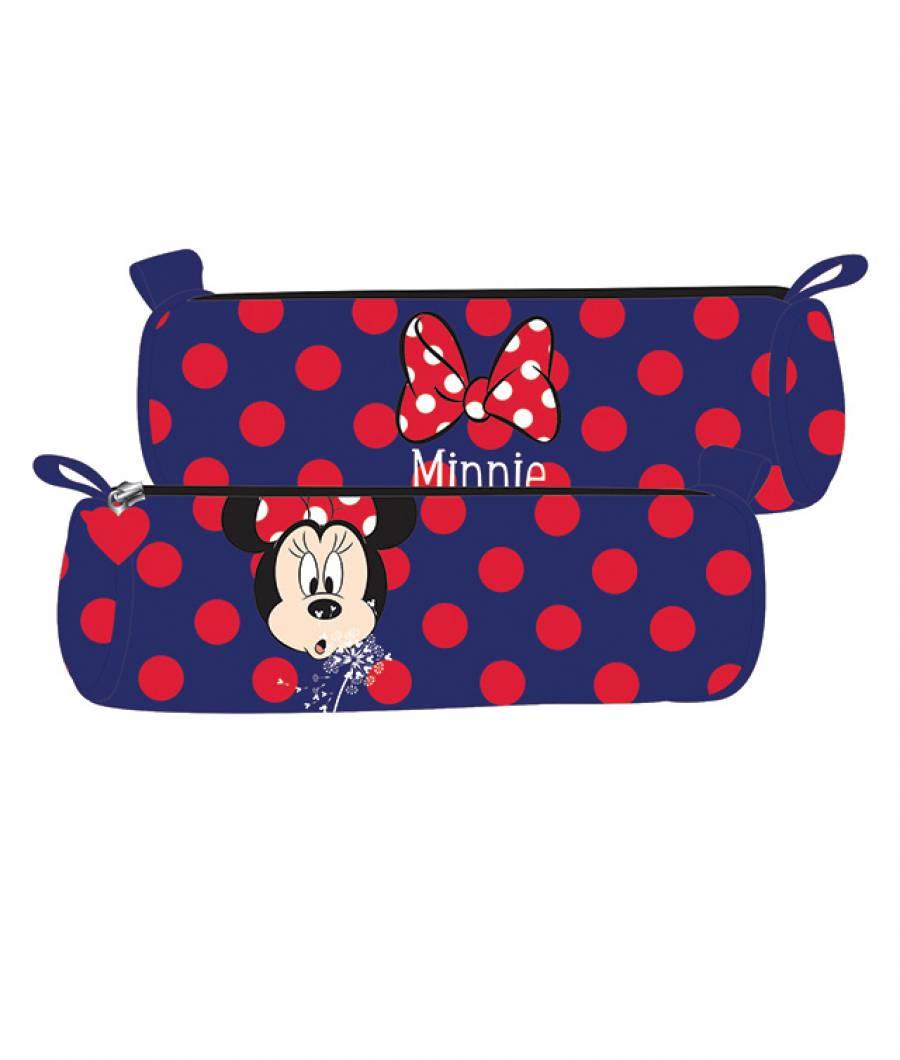 Penar Etui Tubular Minnie Mouse Albastru