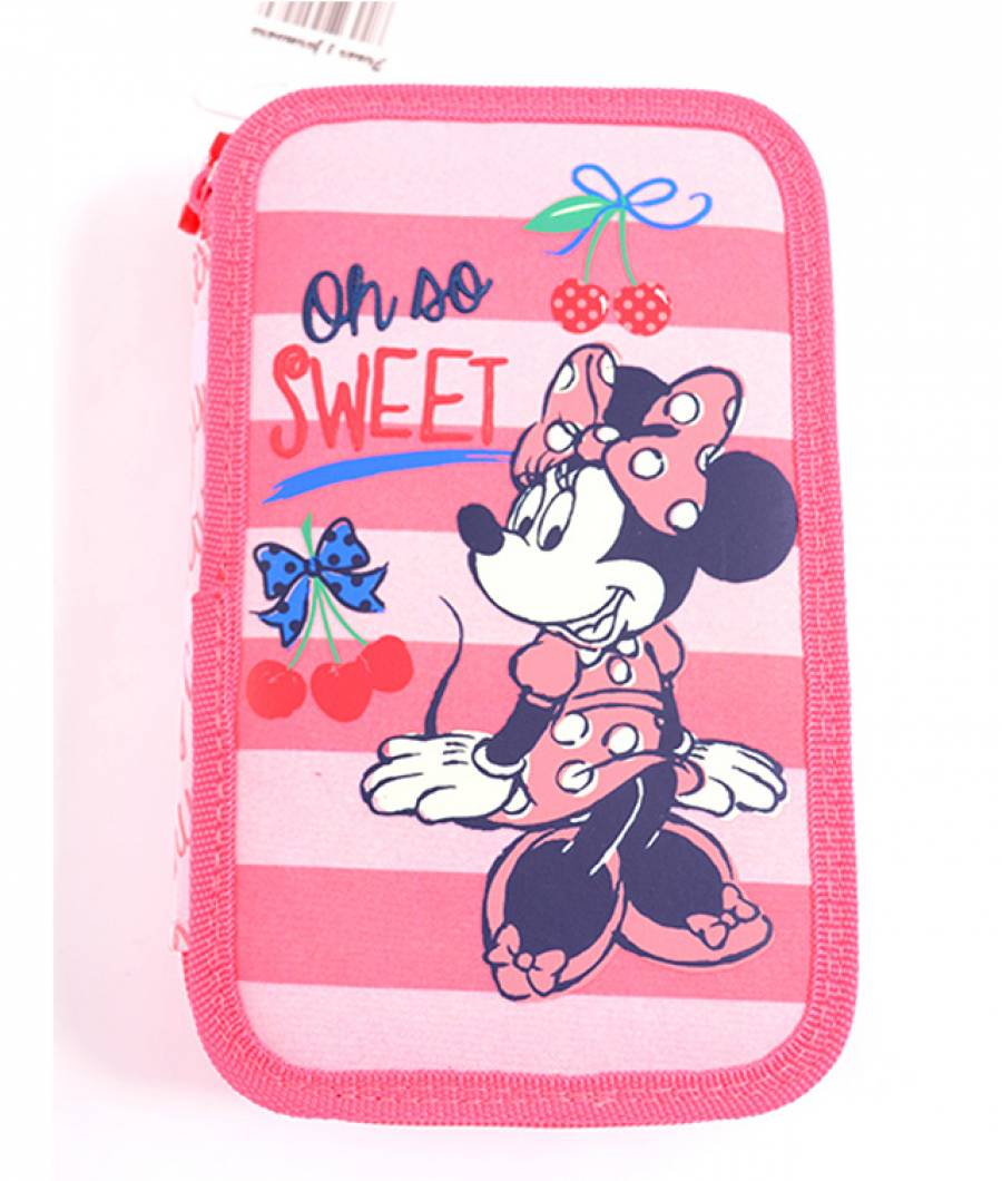 Penar Neechipat 3 fermoare Minnie Roz-Cherry Minnie