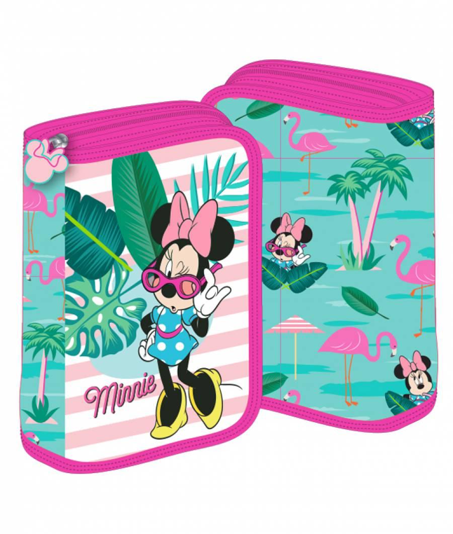 Penar 2 extensii roz-verde Minnie Mouse