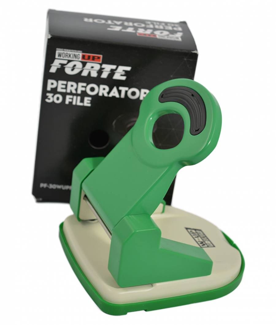 Perforator metalic 30 file W-UP FORTE VERDE