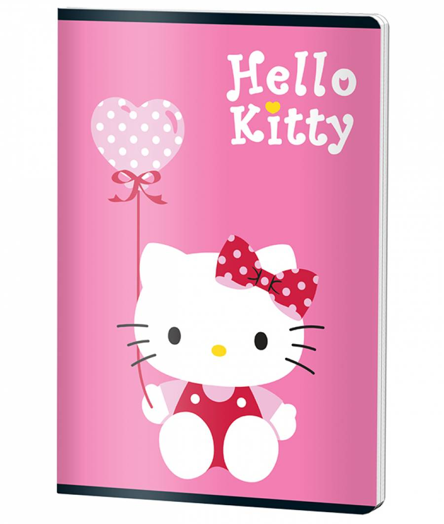 Caiet A4 60file, dictando, HELLO KITTY .