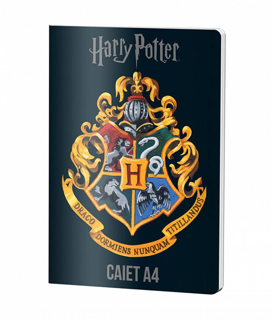 Caiet A4 60file, dictando, Harry Potter