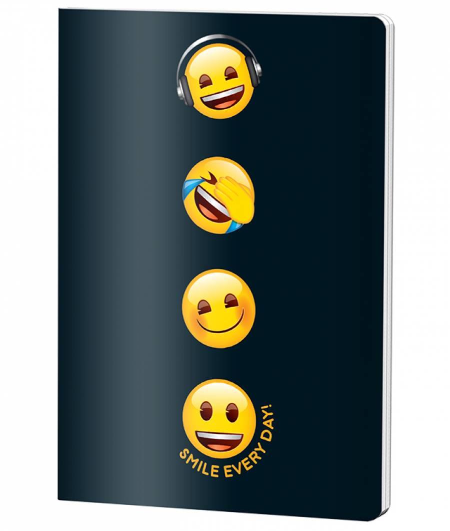 Caiet A4 60file, matematica, Emoji Clasic .