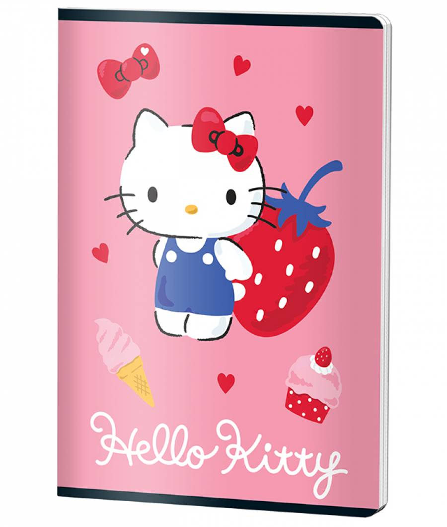 Caiet A4 60file, matematica, HELLO KITTY .