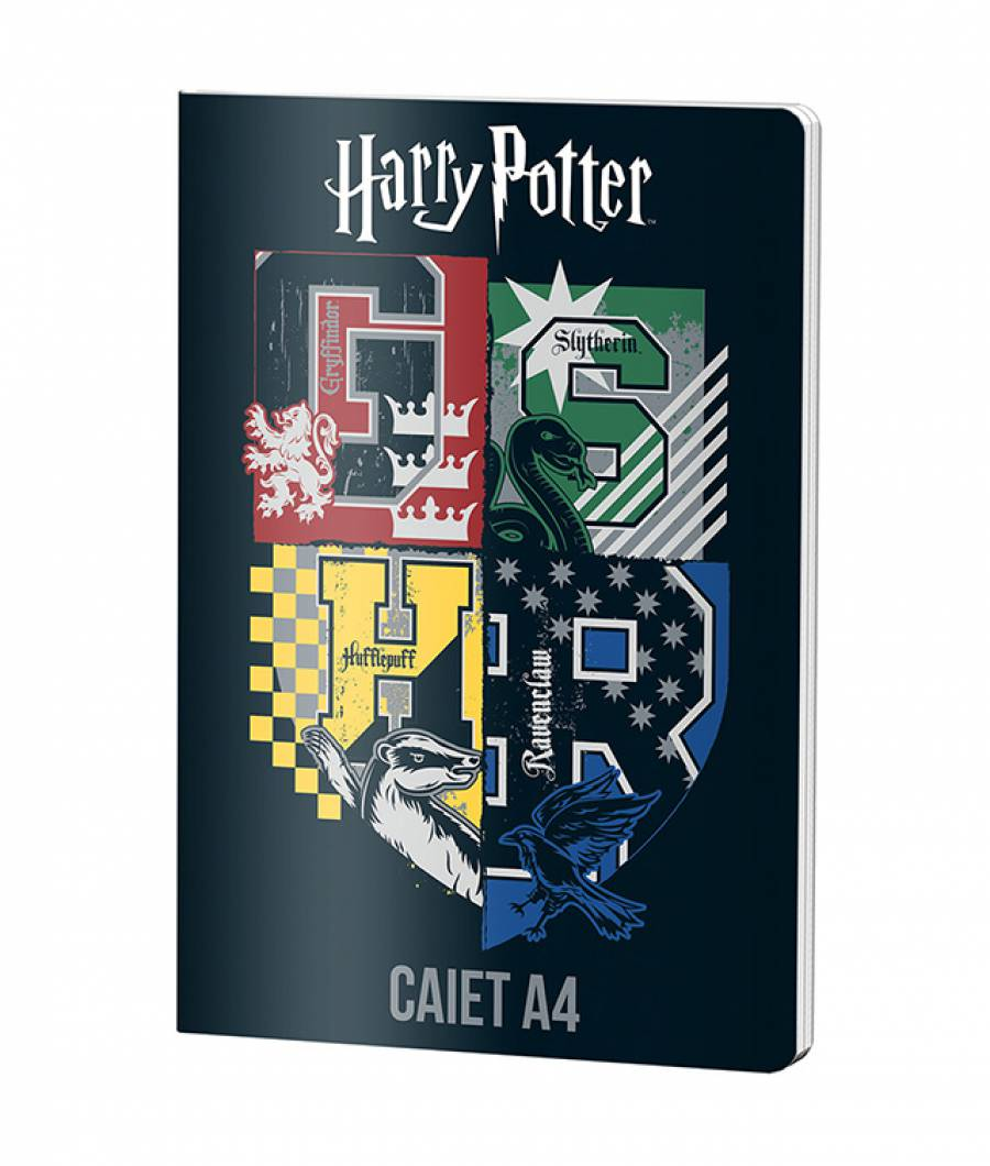 Caiet A4 60file, matematica, Harry Potter
