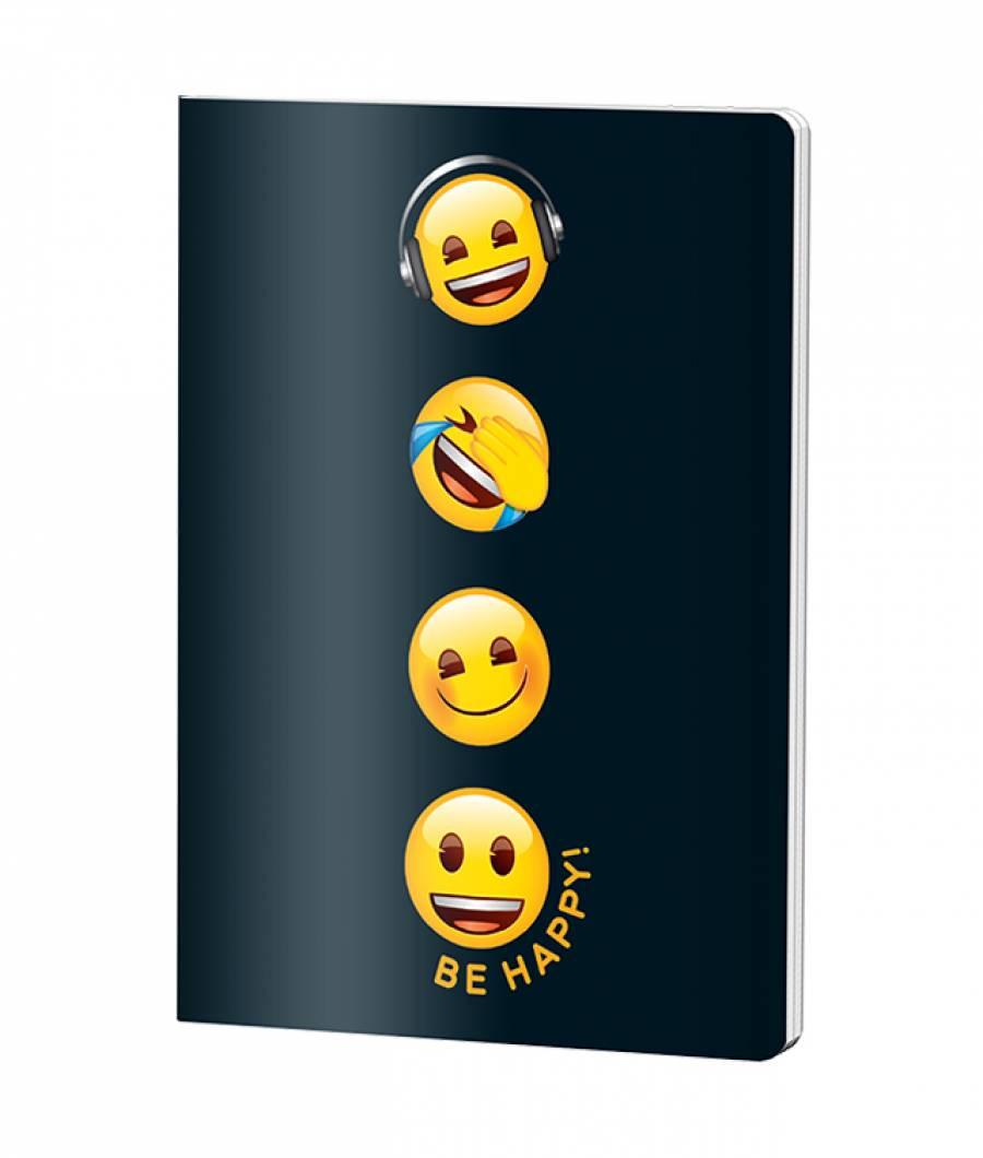 Caiet A5 48file, dictando, Emoji Clasic .