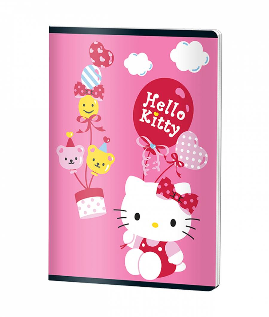 Caiet A5 48file, dictando, HELLO KITTY .