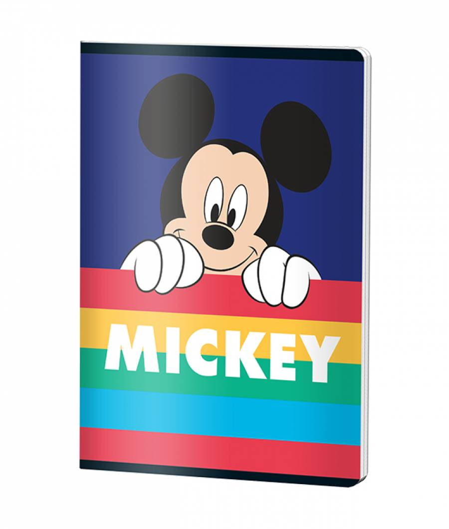 Caiet A5 48file, dictando, Mickey .