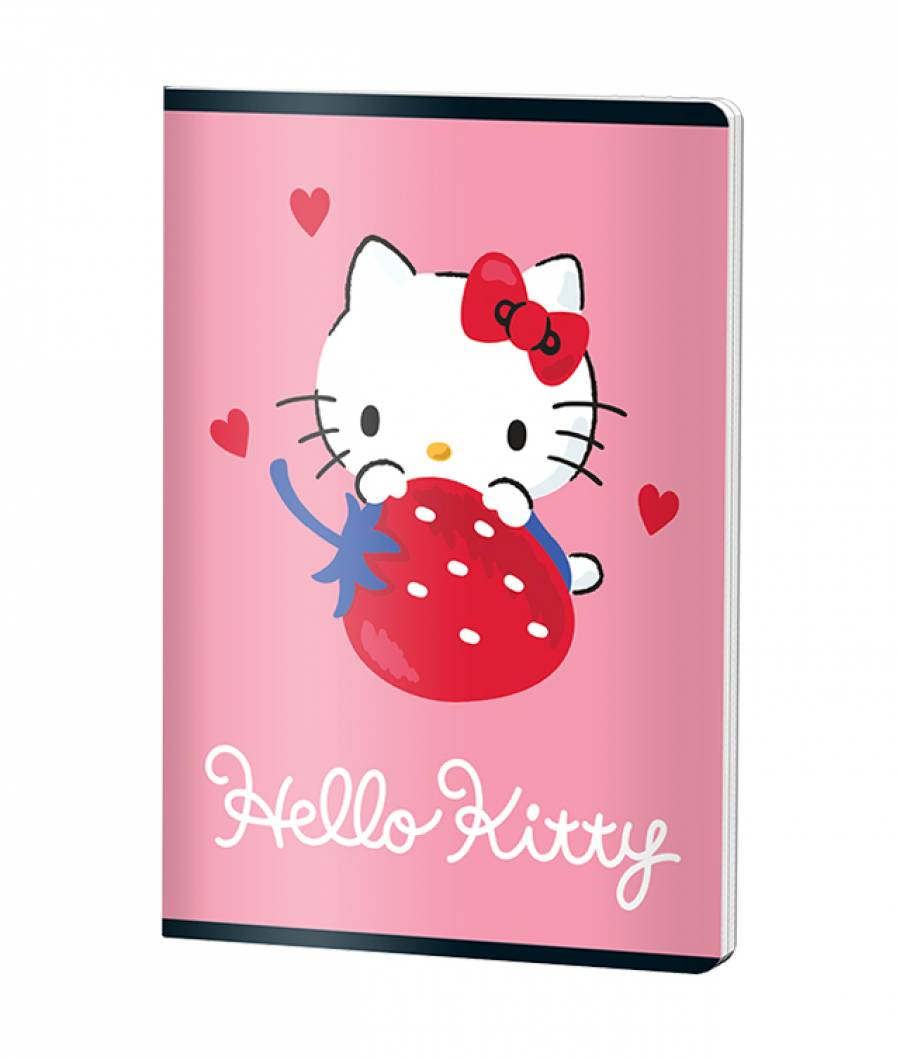 Caiet A5 48file, matematica, HELLO KITTY .
