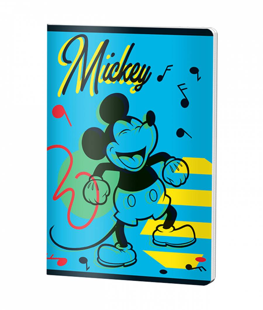 Caiet A5 48file, matematica, Mickey .