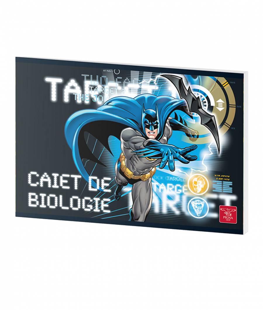 Caiet Biologie 24file Batman prod