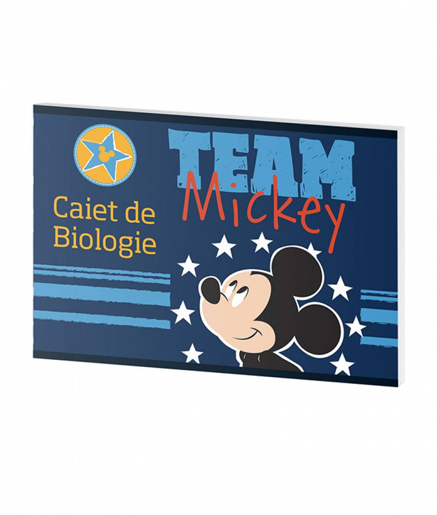 Caiet Biologie 24file Mickey .