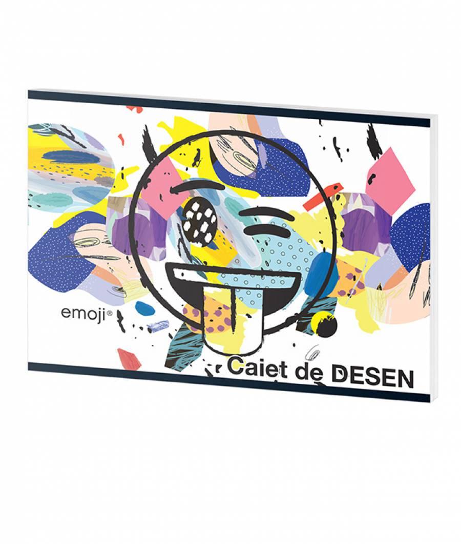 Caiet Desen 16file Emoji Clasic .
