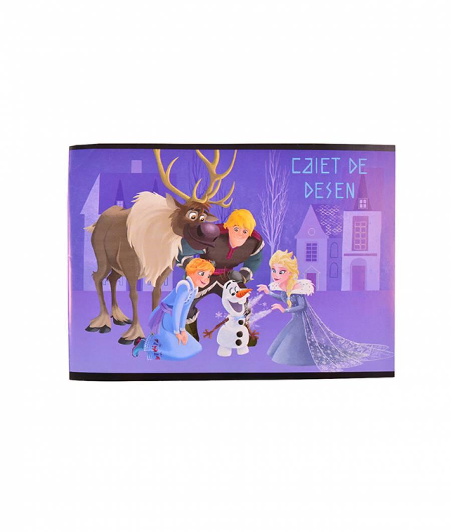 Caiet Desen 16f Frozen R