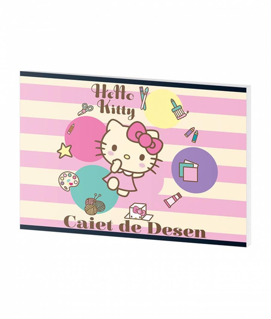 Caiet Desen 16file  HelloKitty
