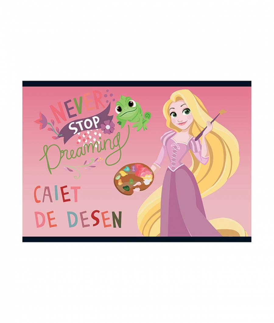 Caiet Desen 16file Princess