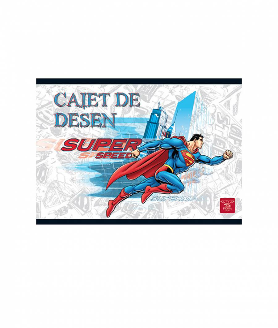 Caiet Desen 16file Superman