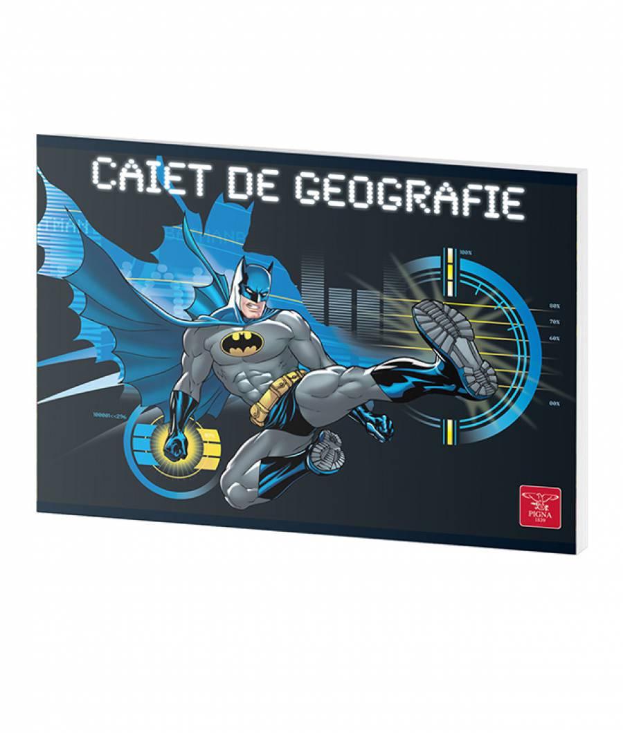 Caiet Geografie 24file Batman prod