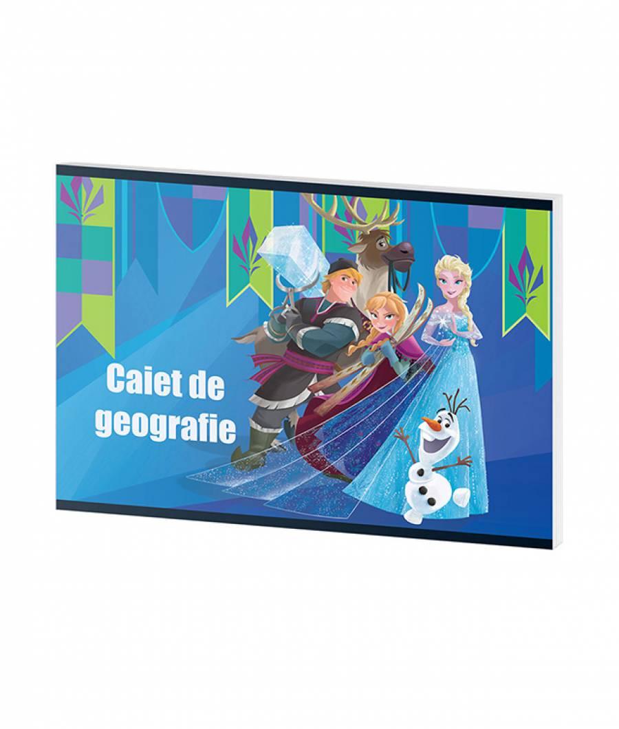 Caiet Geografie 24f Frozen R