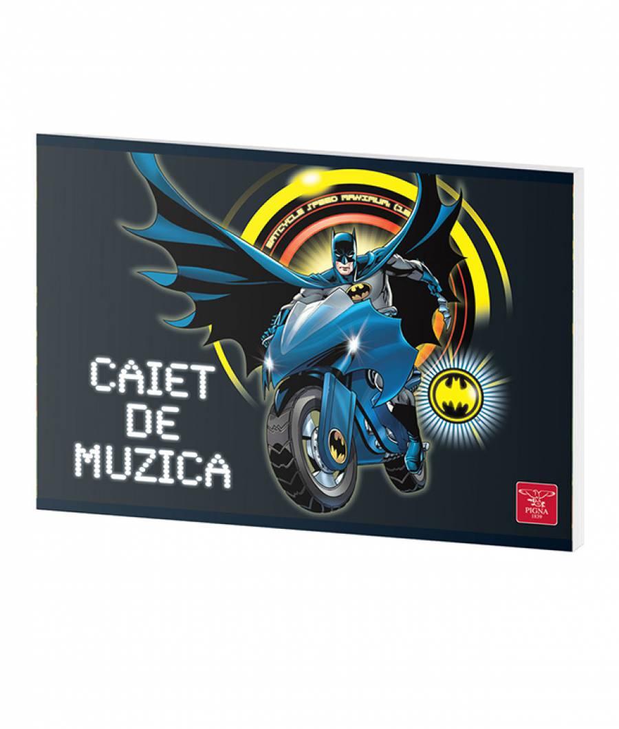 Caiet Muzica 24file Batman prod