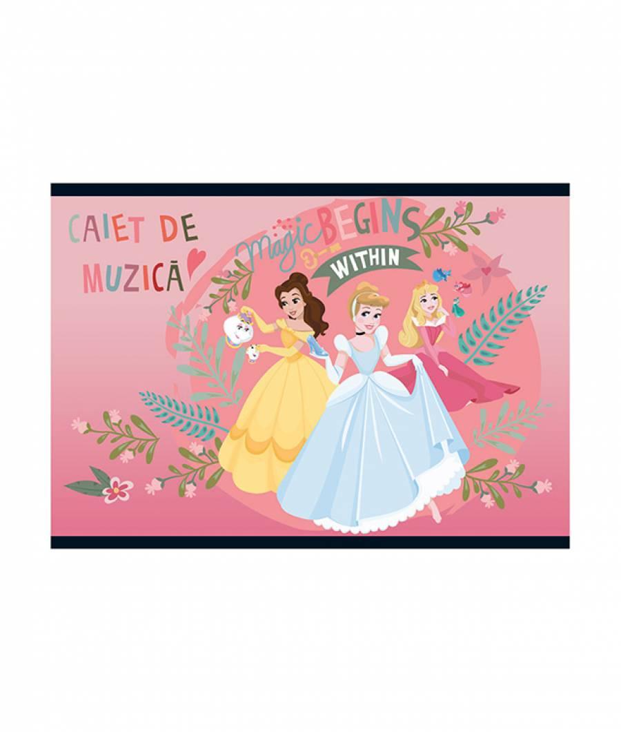 Caiet Muzica 24file Princess R