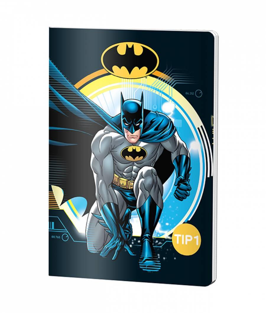 Caiet Tip 1 A5 24file Batman prod