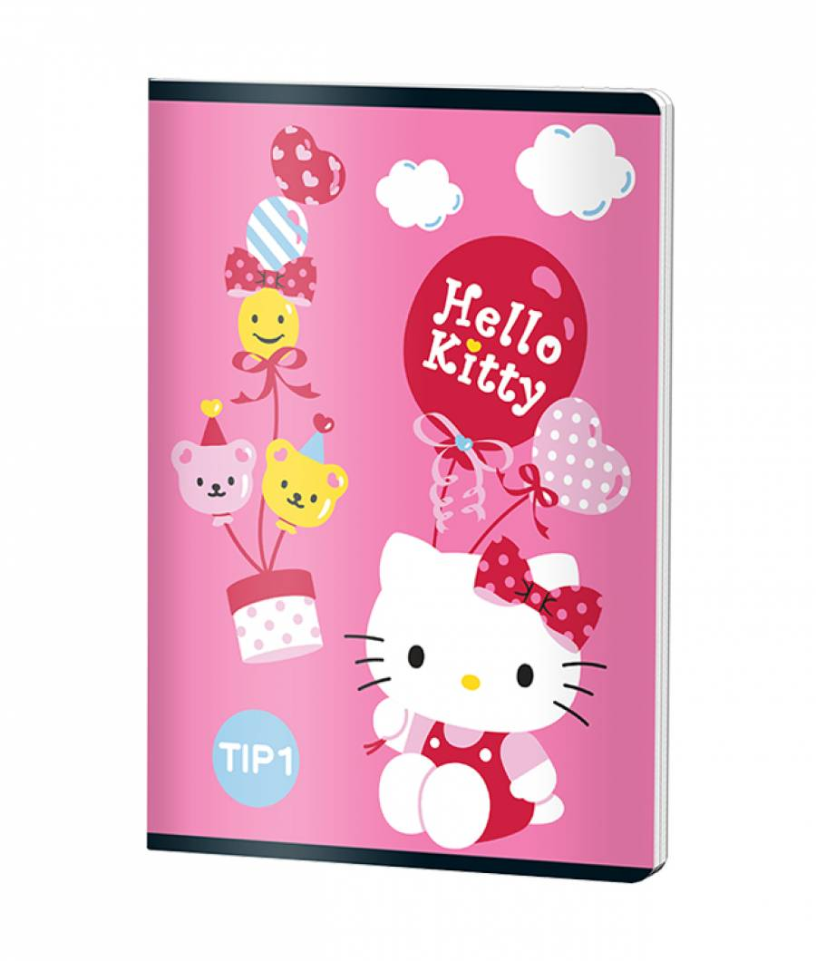 Caiet Tip 1 A5 24file HELLO KITTY