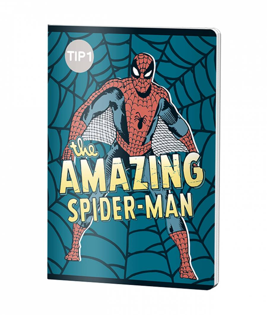 Caiet Tip 1 A5 24file Spiderman