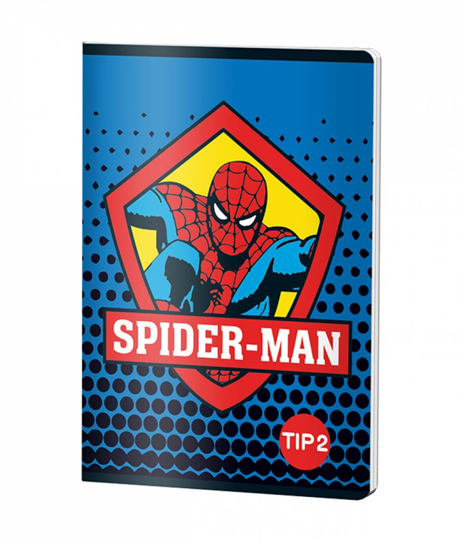 Caiet Tip 2 A5 24file Spiderman prod