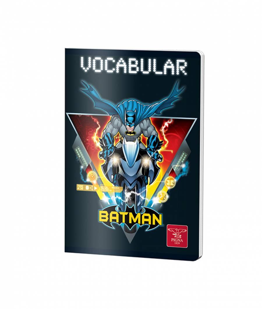Caiet Vocabular 24file Batman prod