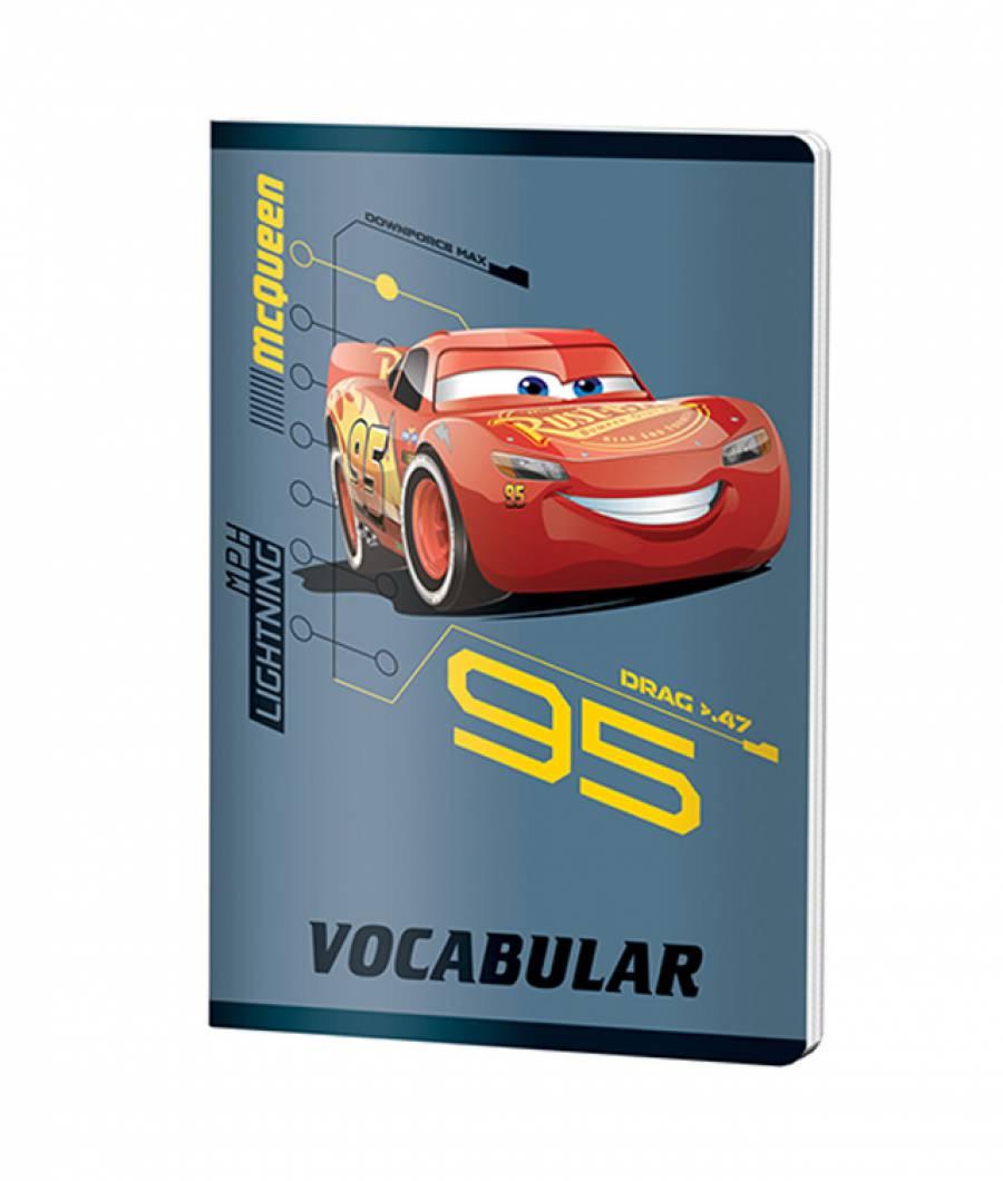 Caiet Vocabular 24file Cars .