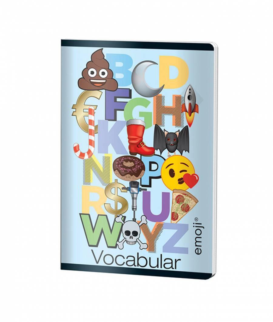 Caiet Vocabular 24file Emoji Clasic
