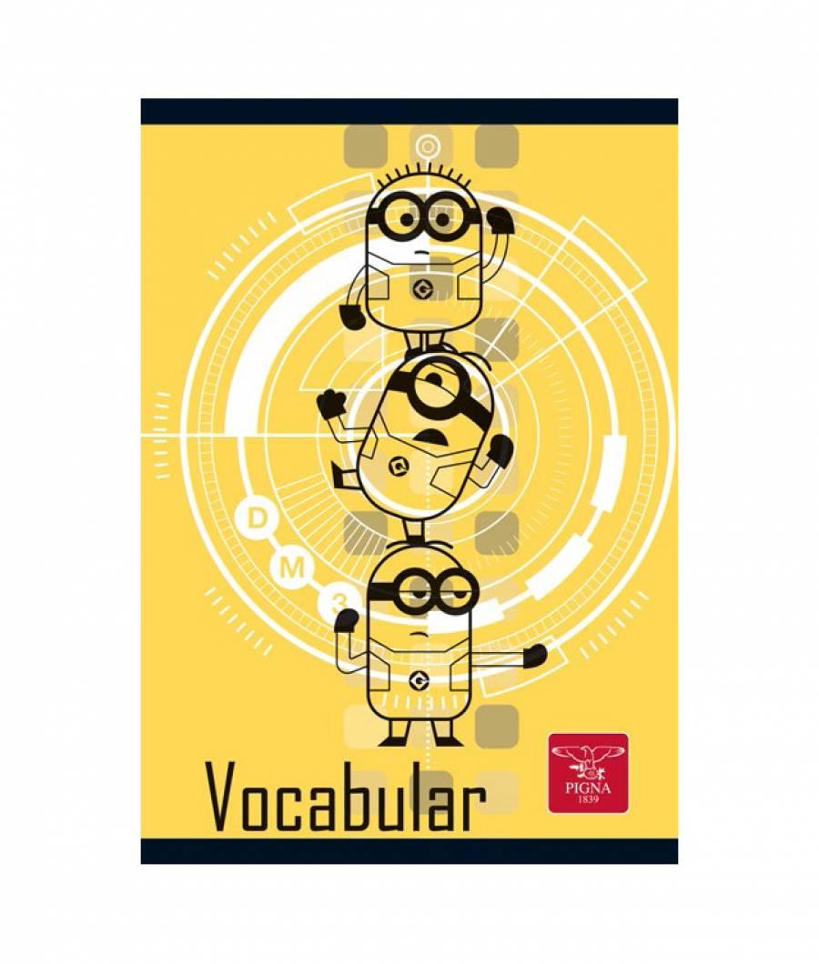 Caiet Vocabular 24file Minions