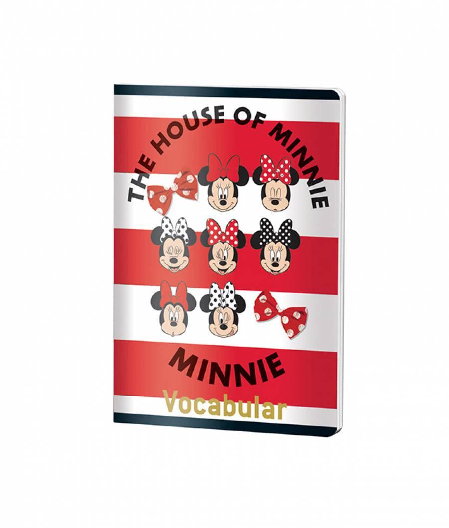 Caiet Vocabular 24file MinnieMouse .